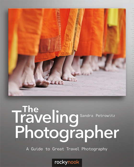 The Traveling Photographer, book cover