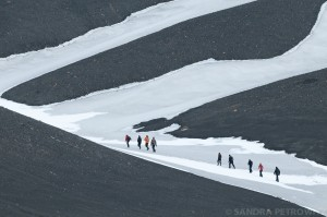 Hiking on Deception Island